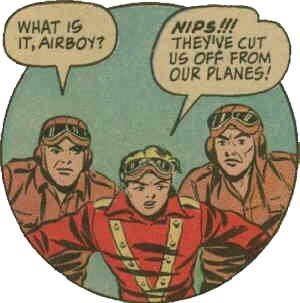 Airboy, from a 1944 comic book.