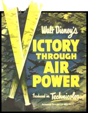 Victory through Air Power: The poster.