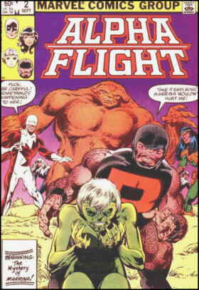 Cover of the second issue. Artist: John Byrne.