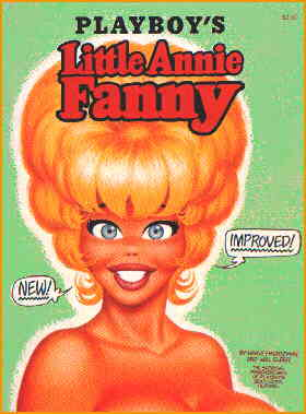 Cover of Annie's 1972 collected edition. Artists: Harvey Kurtzman and Will Elder.