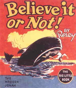 Cover of the 'Believe It Or Not' Big Little Book.