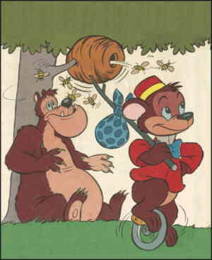 Bongo and Lumpjaw, from the cover of a 'Bongo & Lumpjaw' comic book.
