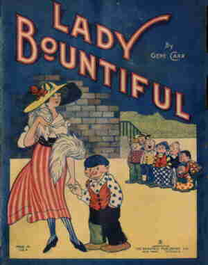Cover of a Lady Bountiful book. Artist: Gene Carr.