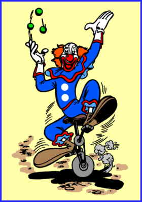 Bozo the Clown, from a Dell comic book.