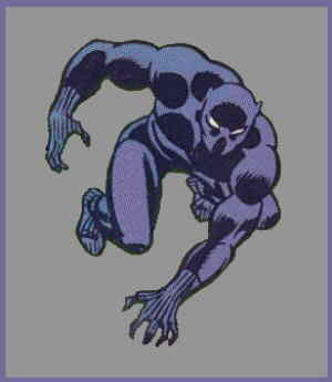 The Black Panther. Artist: John Buscema.