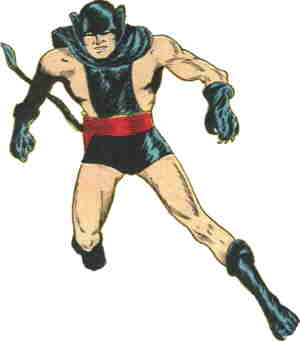 The Black Panther from his first and only appearance.