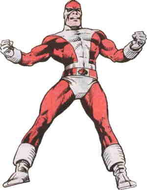 Captain Canuck. Artist: George Freeman.