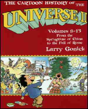 Cover of the second collected edition. Artist: Larry Gonick.