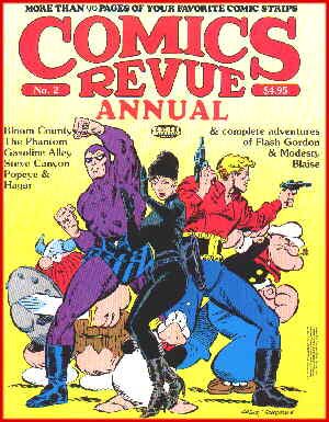 Comics Revue: a 1988 cover. Artists: Ron Frenz and Fred Fredericks.