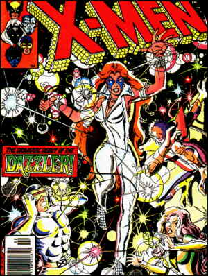 Cover of Dazzler's first appearance. Artist: John Byrne.