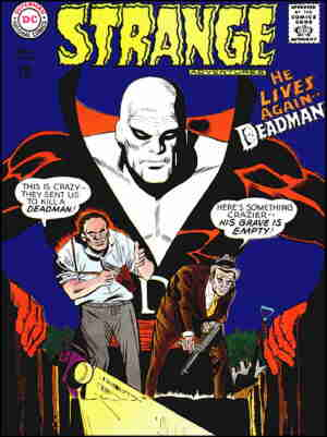 Deadman doesn't seem to be dead. Artist: Mike Sekowsky.