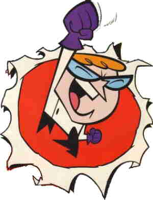 Dexter. Artwork credited to Genndy Tartakovsky.