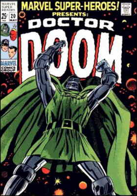 Dr. Doom's first appearance as a protagonist. Artists: Larry Lieber and Frank Giacoia.