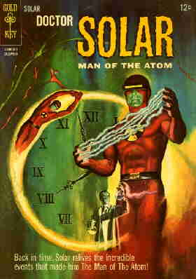 Doctor Solar, Man of the Atom. Cover of a 1965 issue.