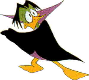 Duckula, from a 1988 model sheet.