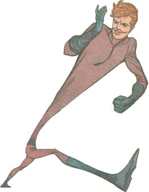 Elongated Man. Artist: Carmine Infantino.
