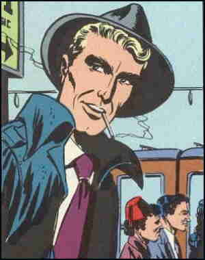 King Faraday about to board the Orient Express. Artist: Carmine Infantino.
