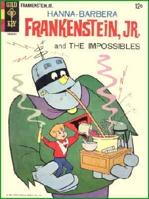 Frankenstein Jr.: The Comic Book.