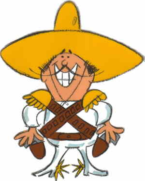 The Frito Bandito.
