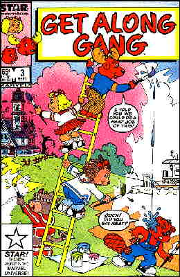The Get Along Gang: Cover of a Marvel comic book.