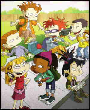 Some of the 'Rugrats' kids in grown-up form.