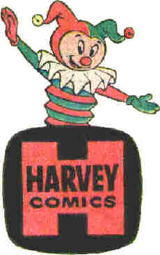 A late 1950s Harvey Comics logo.
