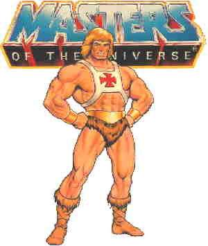 He-man poses mightily in a promotional illustration.
