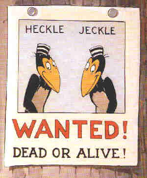 Heckle & Jeckle. From Merry Chase (1950).