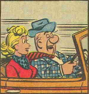 Hubert and Trudy. Artist: Dick Wingert.