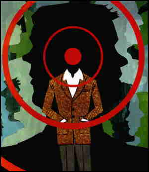 The Human Target, represented on a comic book cover.