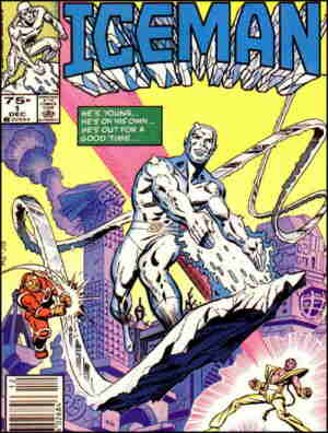 Iceman. Artists: Mike Zeck and John Beatty.