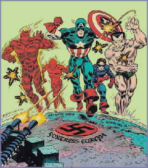The Invaders. Artists: Frank Robbins and John Romita.