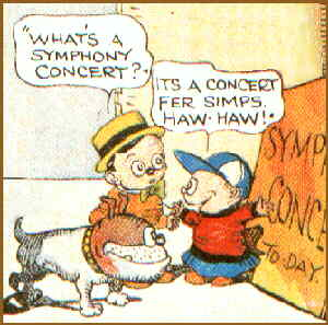 Little Jimmy asks a simple question. Artist: Jimmy Swinnerton.