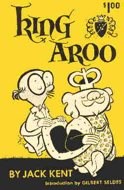 Cover of the one and only King Aroo collection. Artist: Jack Kent.