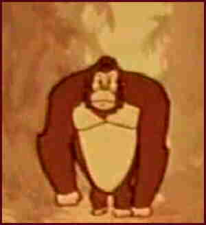 The animated Kong.