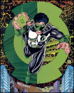 Green Lantern. Artists:  Darryl Banks and Romeo Tanghal.