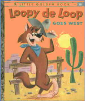 Loopy de Loop Little Golden Book. Artist: George Santos.