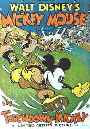 Mickey Mouse movie poster, 1932