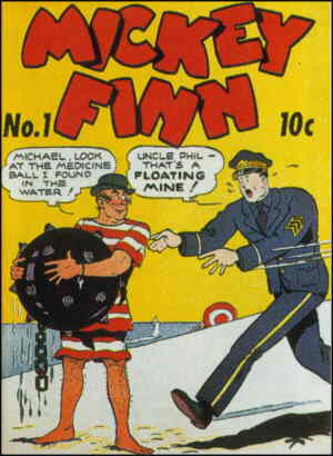 First issue of Mickey's comic book.