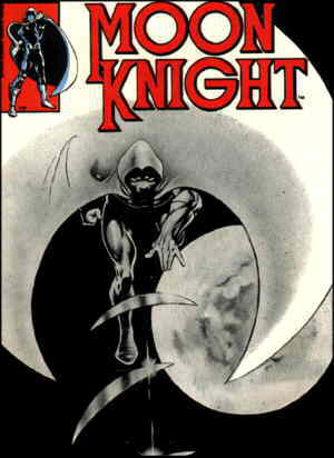 Cover of a typical issue. Artist: Frank Miller.