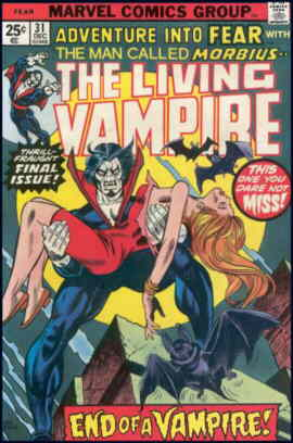 Final issue of Morbius's series..