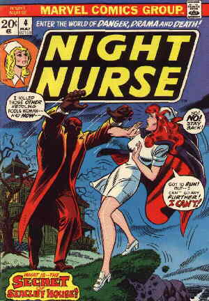 Cover of Night Nurse no. 4.