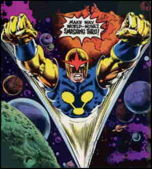 Make way for Nova! Artists: Keith Pollard and Rudy Nebres