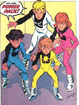 Power Pack. Artist: John Bogdanove.