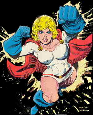 Power Girl. Artists: Joe Staton and Joe Orlando.