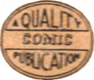 The Quality Comics company logo.