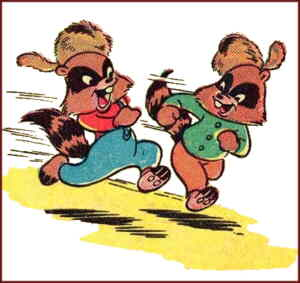 The Raccoon Kids. Artist: Otto Feuer.