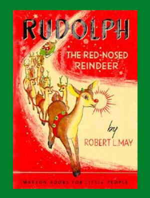 Cover Rudolph's first book. Artist: Denver Gillen.