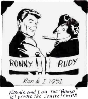 From Rudy's scrapbook. Artist: William Overgard.
