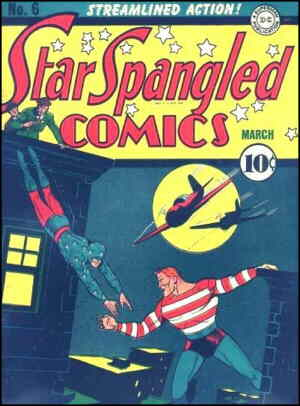 One of The Kid's and Stripesy's few cover appearances. Artist: Hal Sherman.